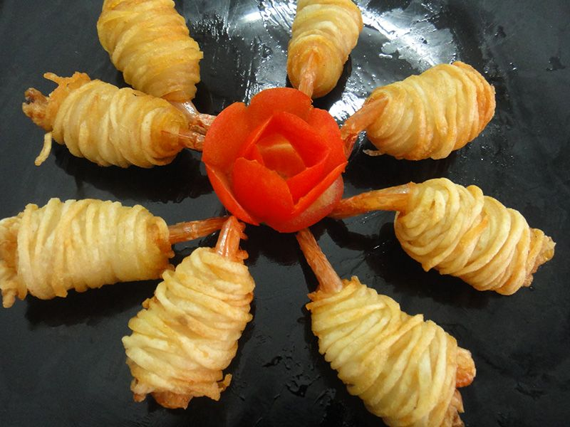 POTATO SHRIMP ROLL
