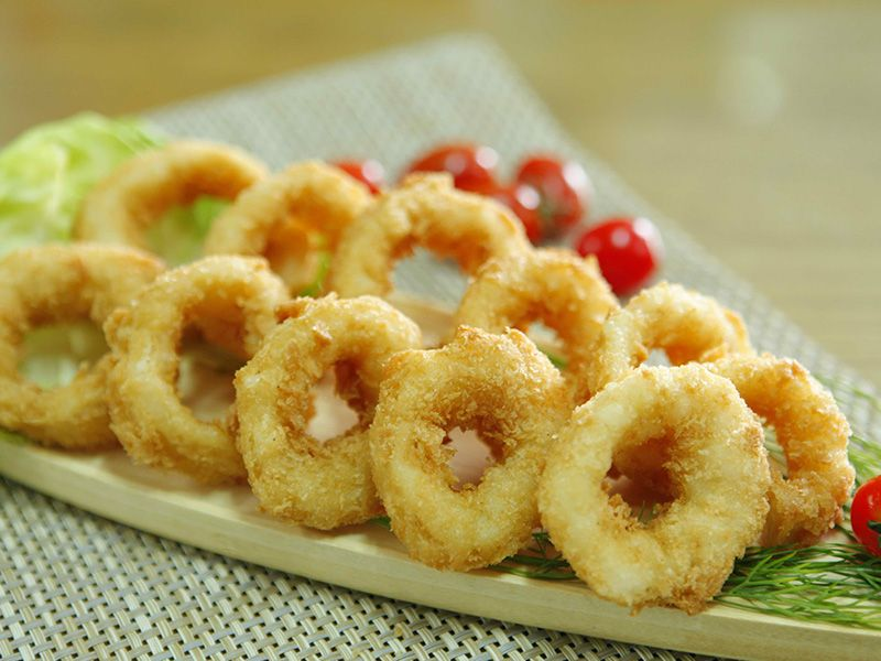 SQUID RING BREADED
